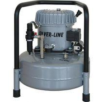 Compresor de aire / portátil / de motor eléctrico / lubricado con aceite