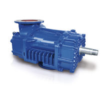 Compresor de aire / estacionario / sin motor / con presión positiva