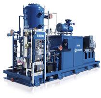 Grupo compresor de aire / de tornillo / para tecnología de refrigeración / con inyección de aceite