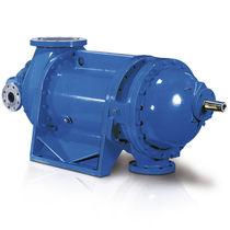 Compresor para gas de proceso / estacionario / de motor hidraúlico / de tornillo