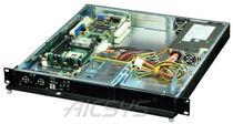 Chasis para ordenador en bastidor / 1U / de fondo de panel / para placa base mini-ITX