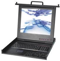 Teclado industrial / montado en rack-cajón / empotrable / USB