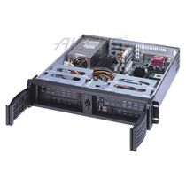 Chasis para ordenador benchtop / en bastidor / 2U / para placa base mini-ITX