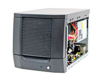 Chasis compacto / mural / para placa base mini-ITX / con bastidor para disco duro con cerradura