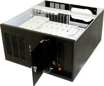 Chasis con 10 unidades de disco / en bastidor / DVR / para placa base ATX