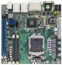 Placa madre mini-ITX / Intel® Core i series / Intel Q77 / DDR3 SDRAM