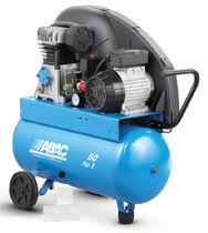 Compresor de aire / móvil / de pistón / lubricado