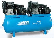Compresor de aire / estacionario / de pistón / lubricado