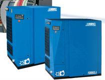 Compresor de aire / estacionario / de tornillo / lubricado