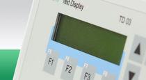 Visualizadores LCD / alfanuméricos / de 17 segmentos / de 2 líneas