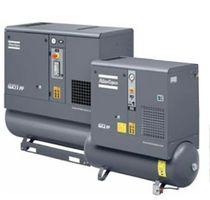 Compresor de aire / rotativo / con tornillo / con inyección de aceite