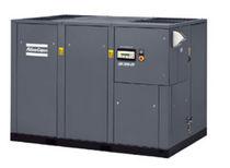 Compresor de aire / con tornillo / con inyección de aceite / estacionario