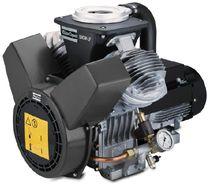 Compresor de aire / de pistón / sin aceite / estacionario