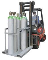 Armario de taller / para suelo / de acero / para botellas de gas