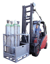 Armario de taller / para suelo / de acero galvanizado / para botellas de gas