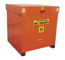 Cajón de acero inoxidable / de recuperación de aceite mineral usado