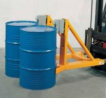 Manipulador con asidero / de bidón / de transporte / para carretilla elevadora