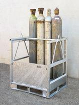 Armario de acero galvanizado / para botellas de gas