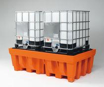 Cubeta de retención para cubitainer / de polietileno / rígida