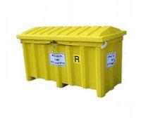 Cajón de metal / para la recogida de tubos fluorescentes / plegable