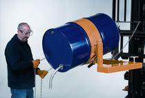 Sistema de vaciado de bidón / para carretilla elevadora