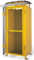 Armario de almacenamiento / para suelo / de acero / para botellas de gas
