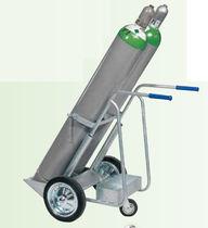 Carretilla de manipulación / de acero / de botella de gas