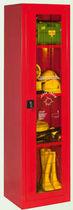 Armario de vestuario para bombero