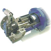 Bomba para resina / para disolvente / de accionamiento magnético / de engranaje interno