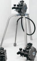 Bomba para productos químicos / accionada por aire / autocebante / de membrana