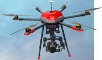 UAV de 6 rotores / para uso civil