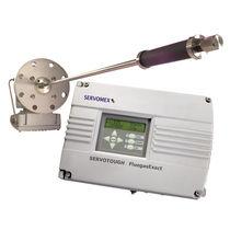 Analizador gas / de oxígeno / de temperatura / integrable