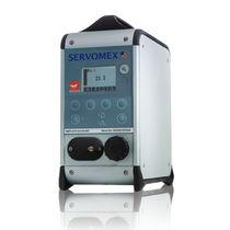 Analizador gas / de oxígeno / de dióxido de carbono / de concentración