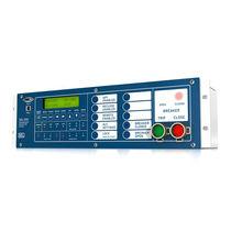 Relé de protección de tensión / de control de reenganche / para línea eléctrica aérea