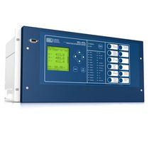 Relé de protección de fases / multifunción / para línea eléctrica aérea