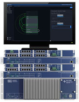 Conmutador Ethernet en administrables por la red / 16 puertos / Ethernet / en bastidor