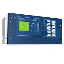 Relé de control de tensión / programable / ajustable / configurable