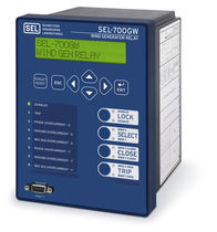 Relé de protección de sincronización / para montaje en panel / digital / programable