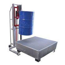 Elevador para barriles hidráulico