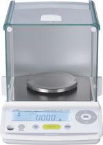 Balanza de análisis / con pantalla LCD / de acero inoxidable
