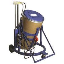Sistema de alimentación de materiales / para proceso de empolvado