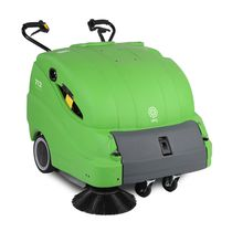 Barredora con operador a pie / eléctrica de batería / gasolina / de exterior