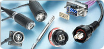 Conector radiofrecuencia / de fibras ópticas / DIN / circular