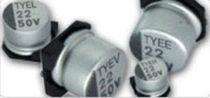 Condensador eléctrico electrolítico / para circuito impreso / para la electrónica