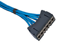 Cable óptico de datos / de cobre / flexible / de enlace