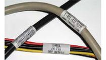 Etiqueta autoprotegida / para identificación de cables