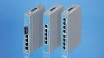 Conmutador Ethernet administrable / 8 puertos