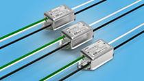 Filtro electrónico RFI / monofásico / montado sobre bastidor / para línea de alimentación eléctrica