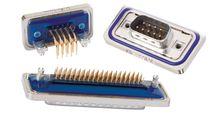 Conector de datos / D-sub / de latón / IP67