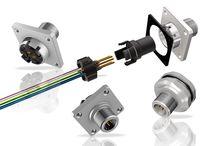 Conector para montaje en panel / combinado / DIN / cuadrado